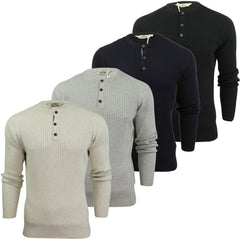 Mens Grandad Jumper by Tokyo Laundry 'Brookmere' Long Sleeved-Main Image