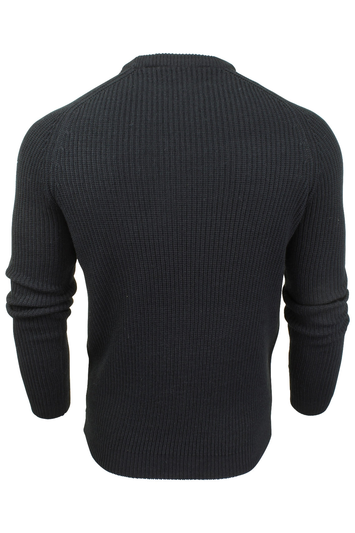 Mens Turtle Neck Knit Jumper by Dissident 'Mino' Wool Mix-3