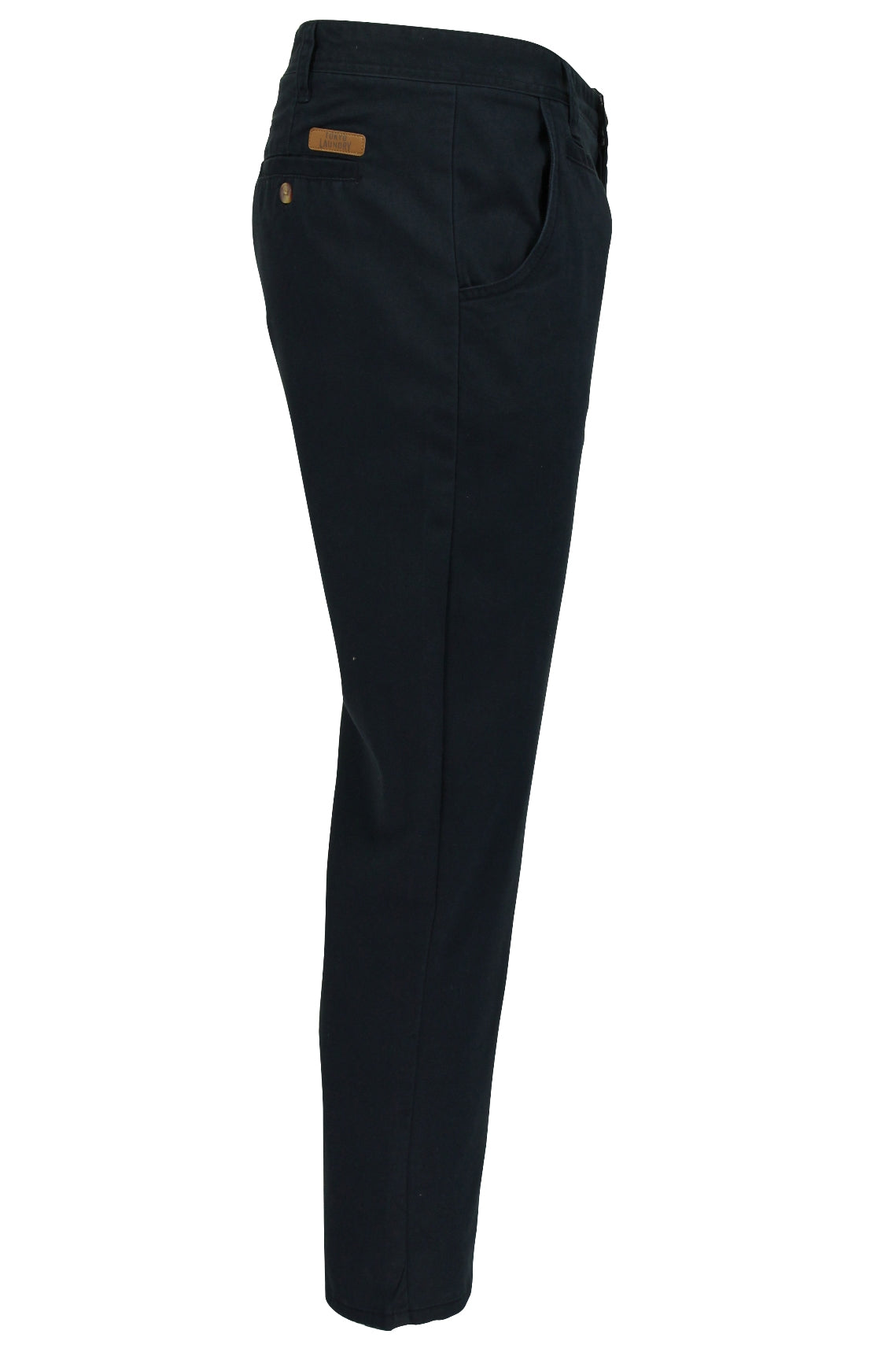 Mens Chino Trousers by Tokyo Laundry 'Damon' Cotton Twill-2
