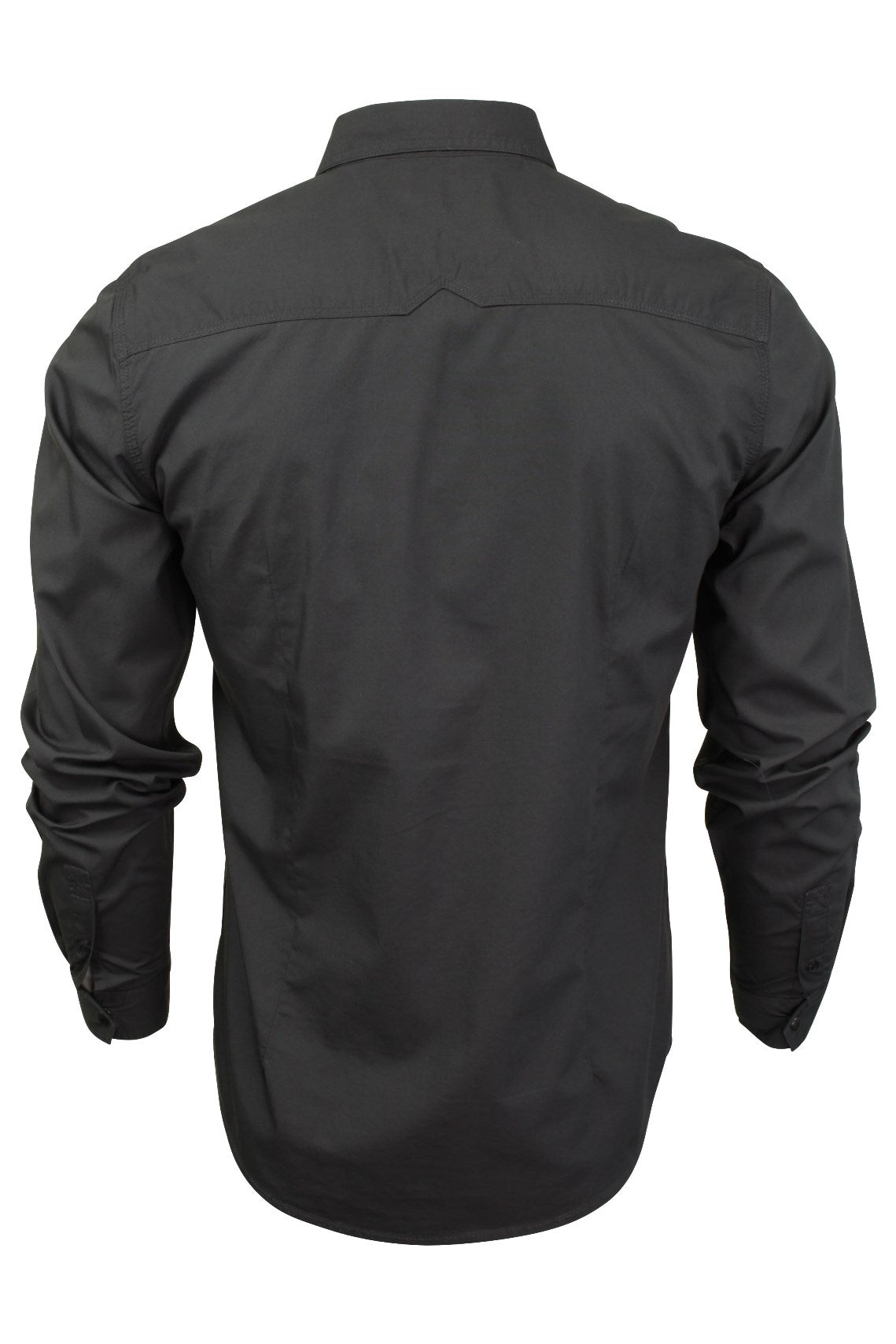Mens Shirt by Dissident 'Bismarck' Long Sleeved-3