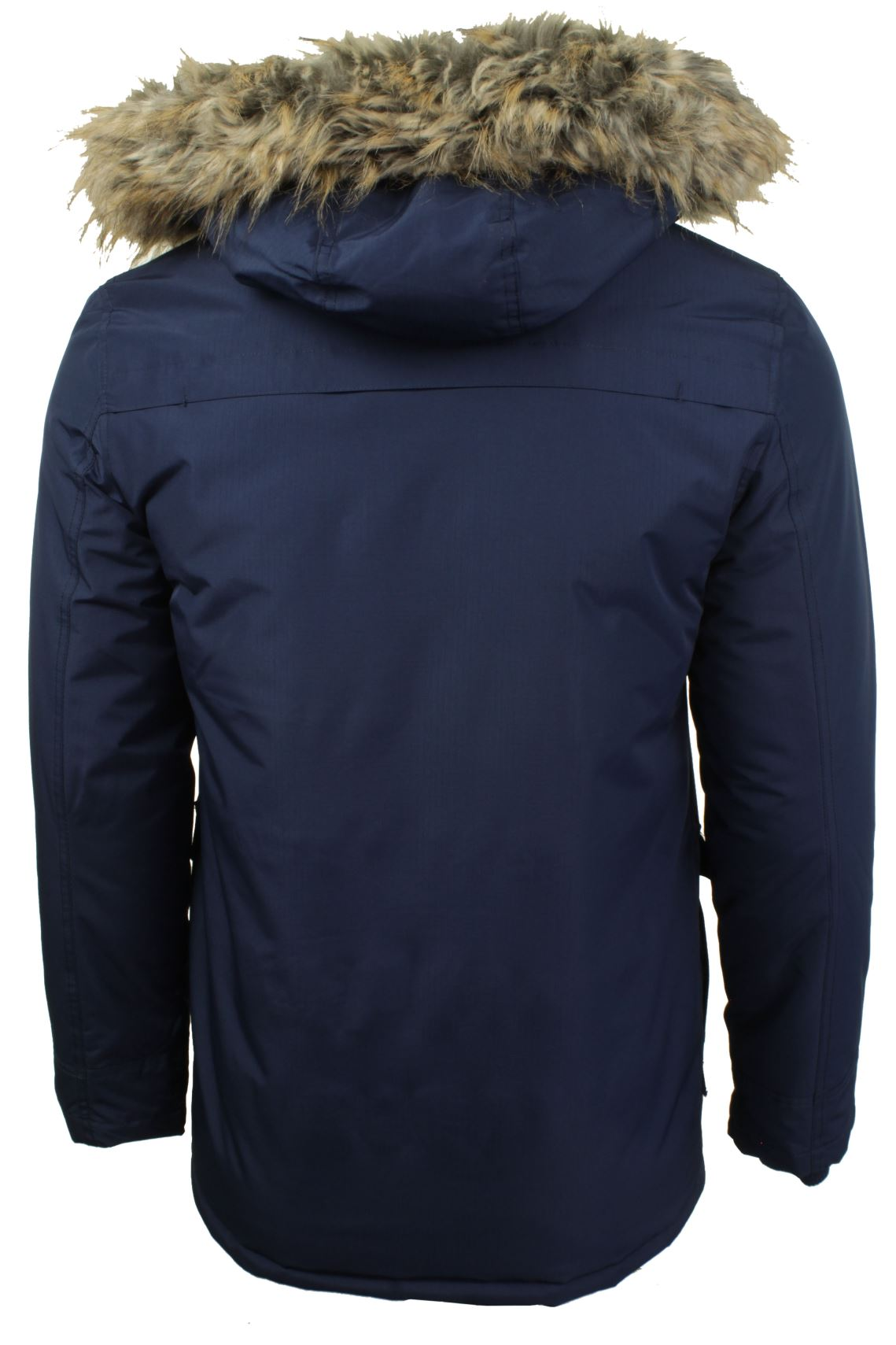 Mens RipStop Parka Jacket by Tokyo Laundry 'Ridgecrest'-3