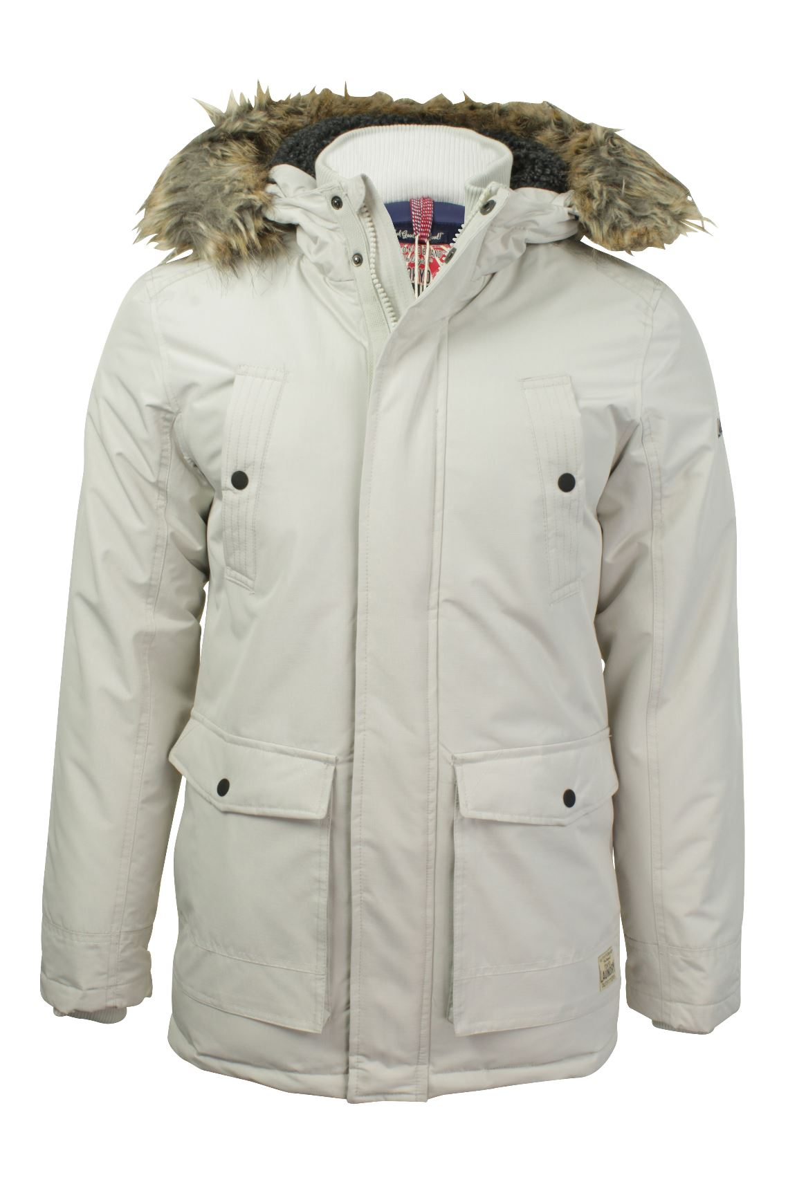 Mens RipStop Parka Jacket by Tokyo Laundry 'Ridgecrest'-Main Image