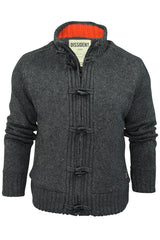 Mens Cardigan/ Jumper by Dissident 'Hawthorn' Sherpa Body Lining-2