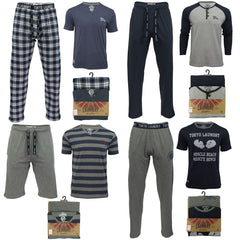 Mens Pyjamas Bottoms/ Top Nightwear Set by Tokyo Laundry-Main Image