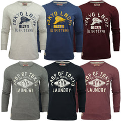 Mens Long Sleeved T-Shirt by Tokyo Laundry-Main Image
