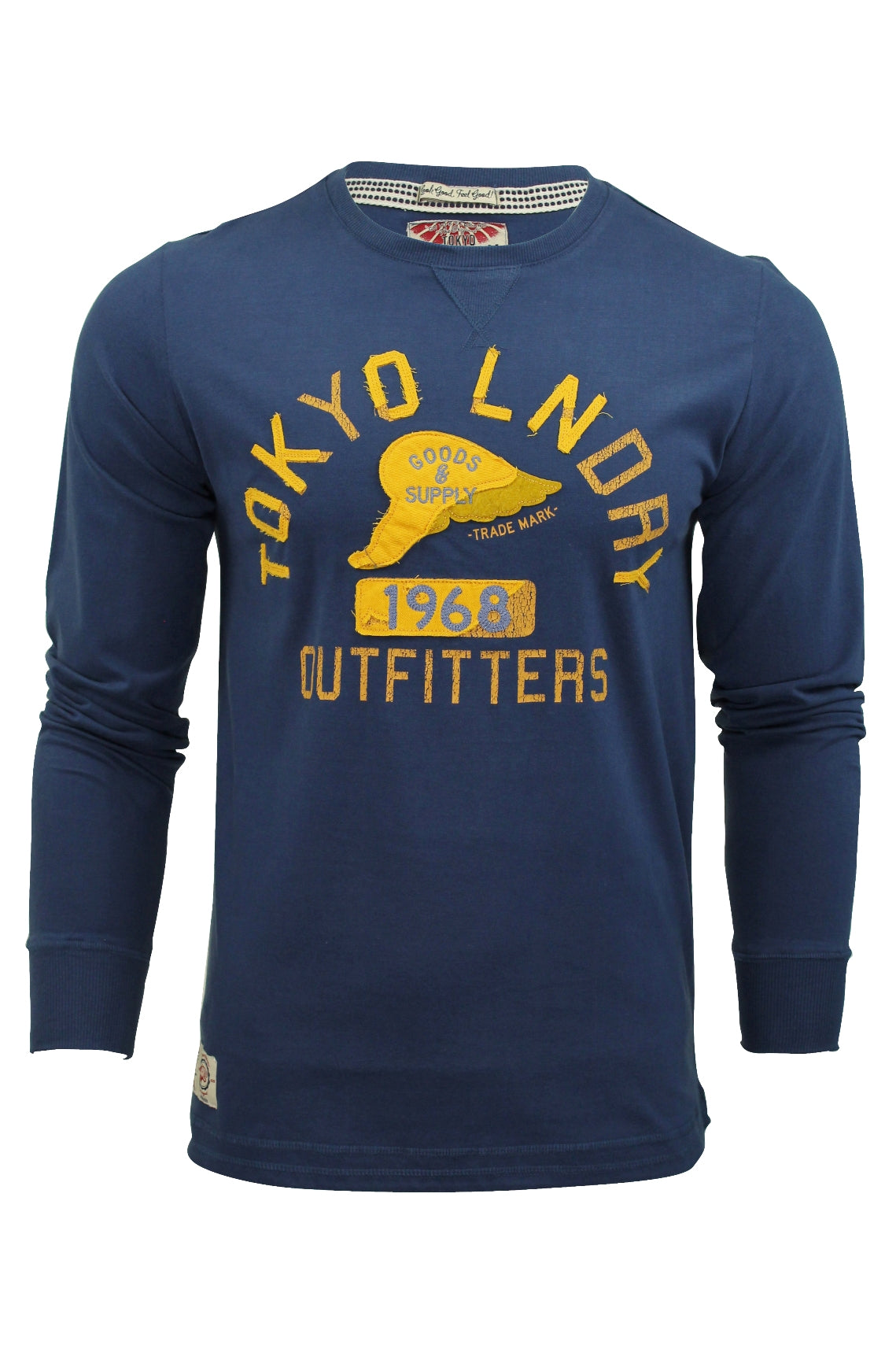 Mens Long Sleeved T-Shirt by Tokyo Laundry-2