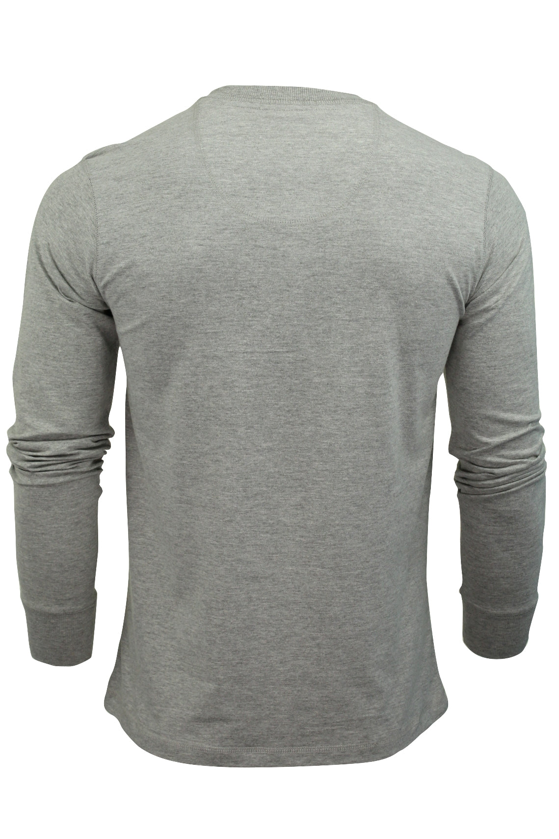 Mens Long Sleeved T-Shirt by Tokyo Laundry Grandad Neck-3