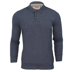 Mens Long Sleeved Polo Shirt by Tokyo Laundry-2