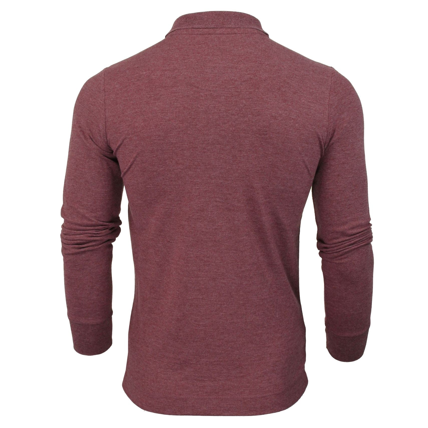 Mens Long Sleeved Polo Shirt by Tokyo Laundry-3