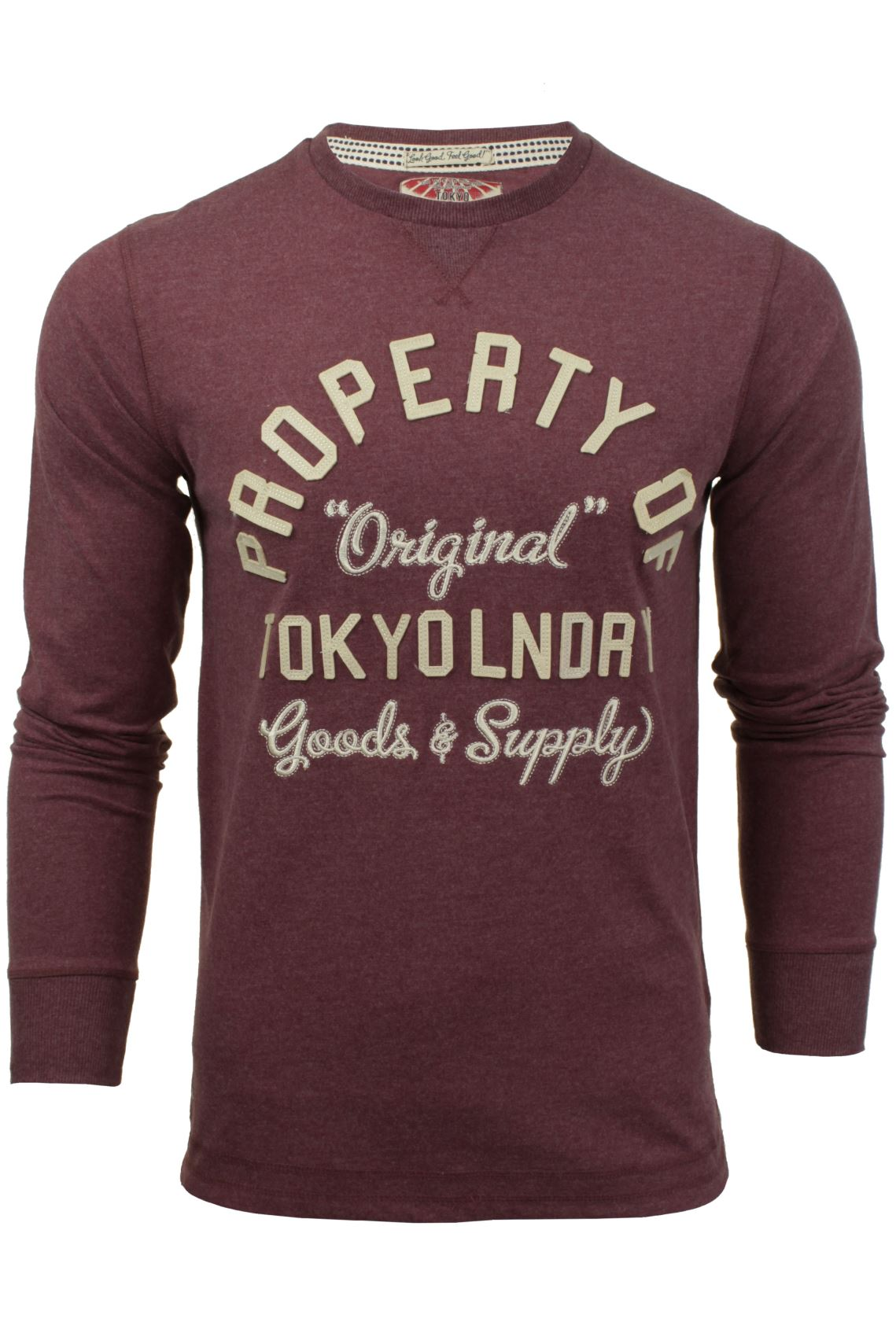 Mens Long Sleeved T-Shirt/ Top by Tokyo Laundry-2