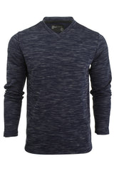 Mens Long Sleeved T-Shirt by Dissident 'Drover' V-Neck-2