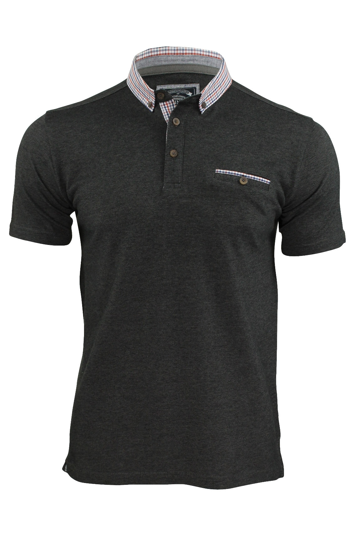 Mens Polo Shirt by Kensington Eastside 'Carndale' Short Sleeved-Main Image