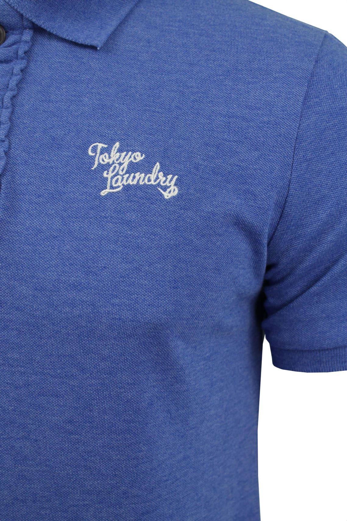 Mens Polo T-Shirt by Tokyo Laundry 'Rochester' Short Sleeved-2
