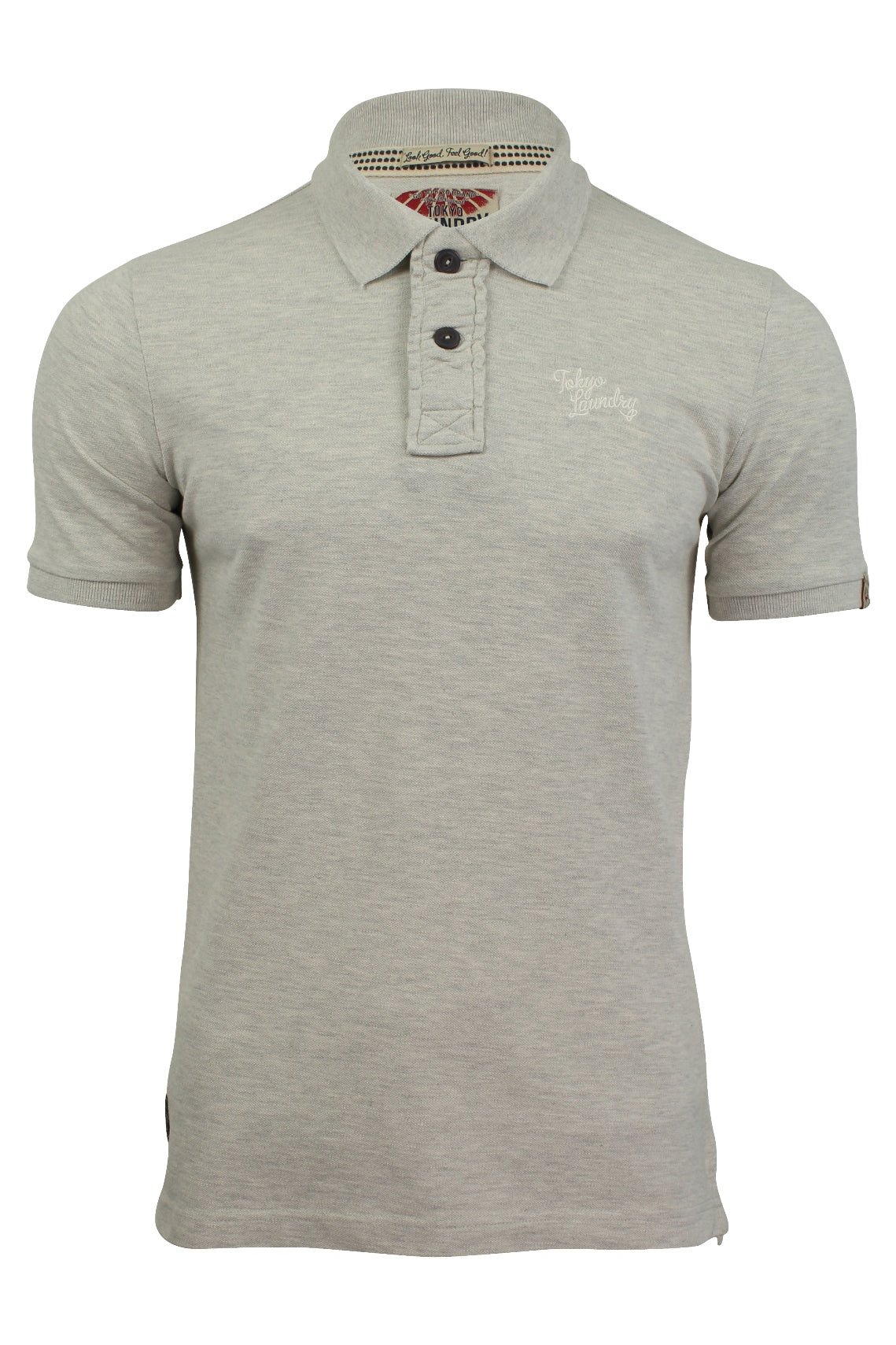 Mens Polo T-Shirt by Tokyo Laundry 'Rochester' Short Sleeved-Main Image
