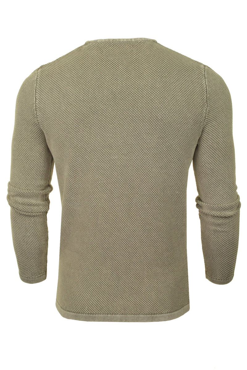 Only & Sons Mens Crew Neck Knit Jumper 'ONSHUGH', 03, 22007422, #colour_Griffin