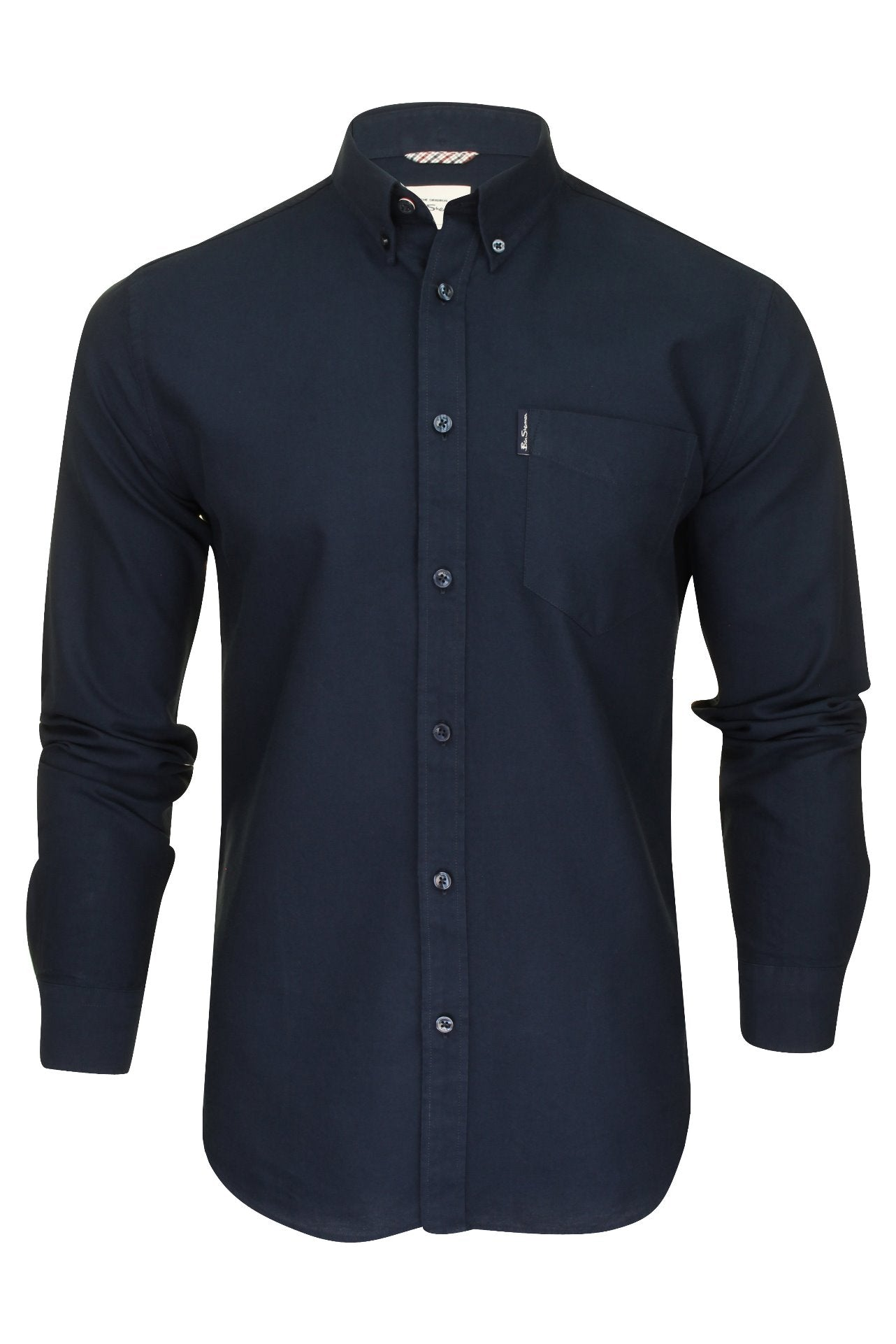Ben Sherman Mens Oxford Shirt - Long Sleeved-2