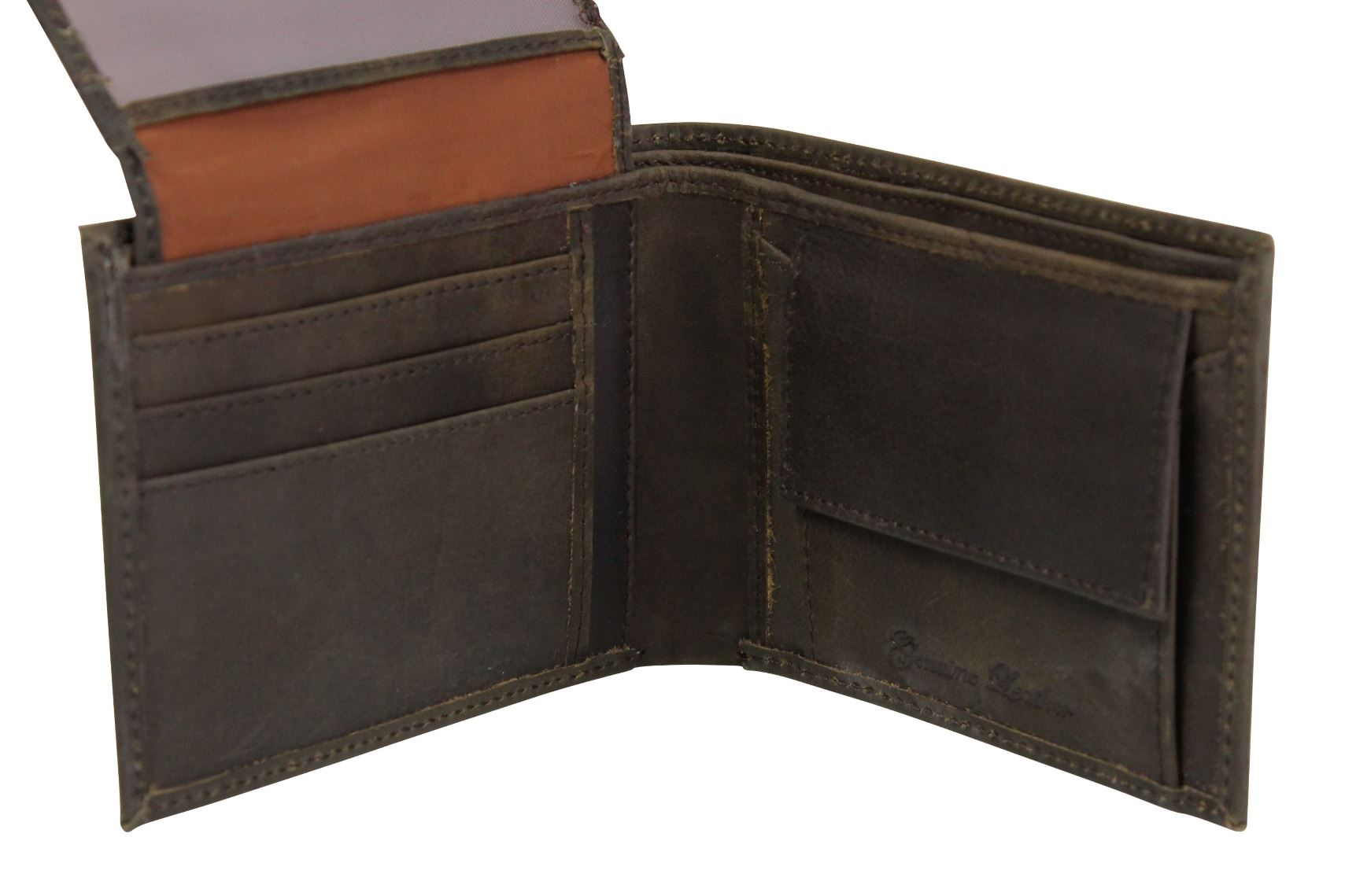 Mens Genuine Leather Wallet by Xact Clothing-3