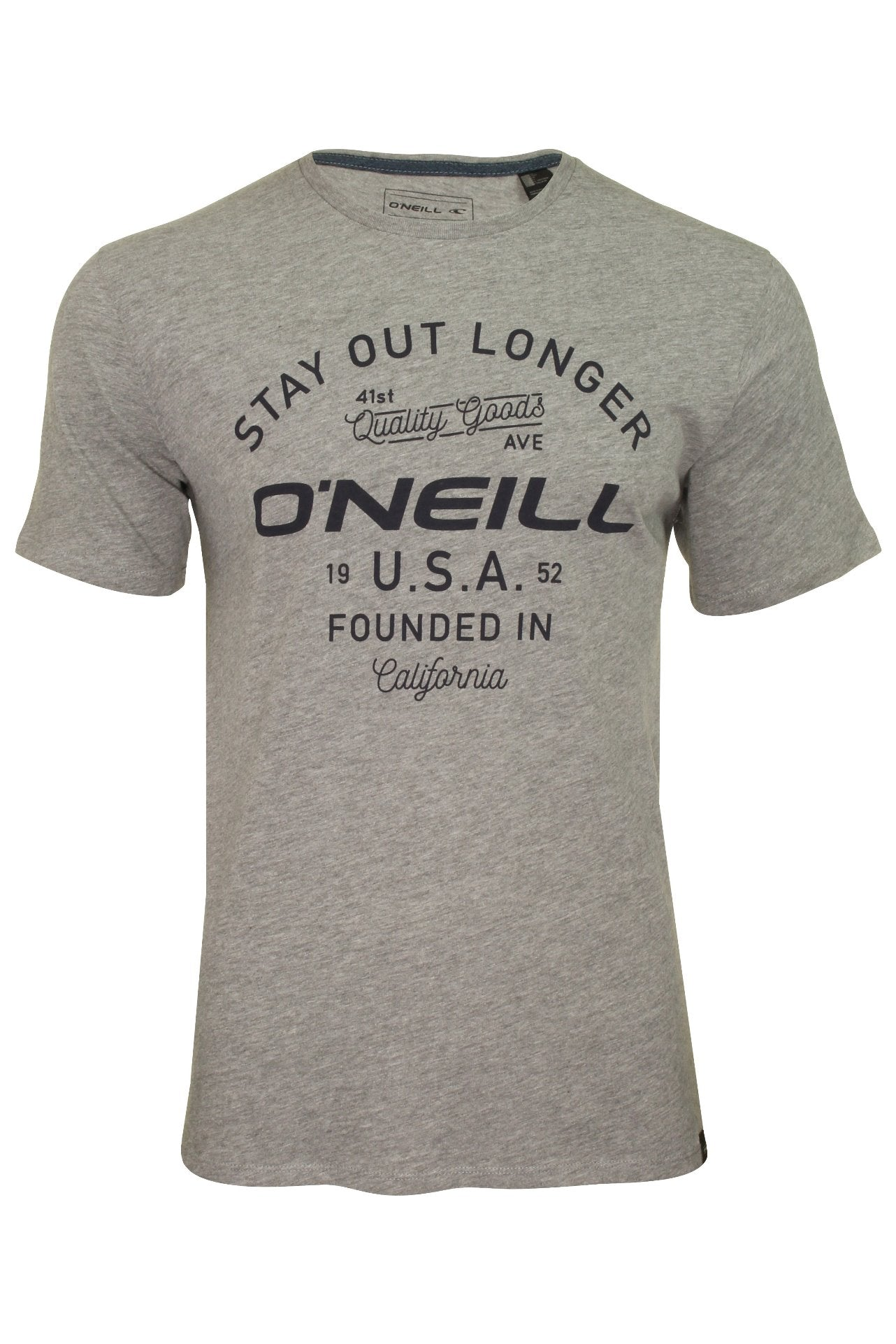 O'Neill Mens 'Foundation' T-Shirt-Main Image