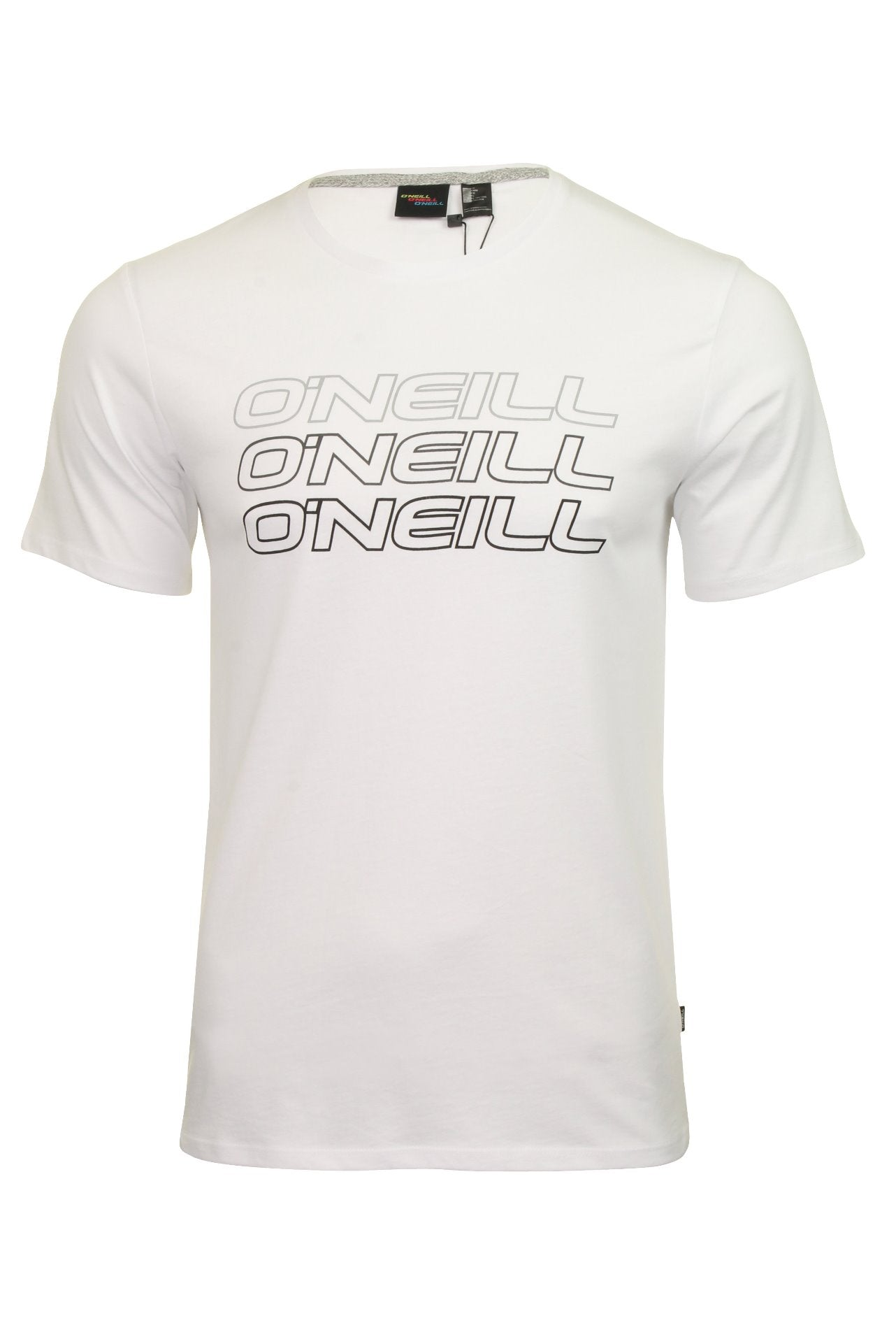 O'Neill Mens 'Triple Logo' Short Sleeved T-Shirt-Main Image