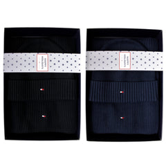 Tommy Hilfiger Mens 'Pima Cotton' Beanie Hat and Scarf Gift Set_01_Am0Am05186