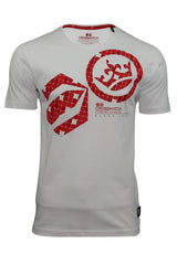 Mens T-Shirt by Crosshatch 'Arowana' Short Sleeved-Main Image