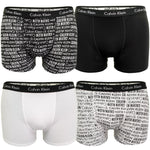 Boys Boxer Trunks by Calvin Klein 'Logomania' (2-Pack), 01, B70B792003