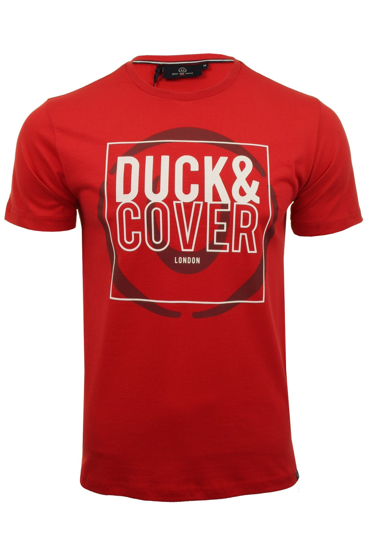 Duck and Cover Mens 'Midas' T-Shirt-Main Image
