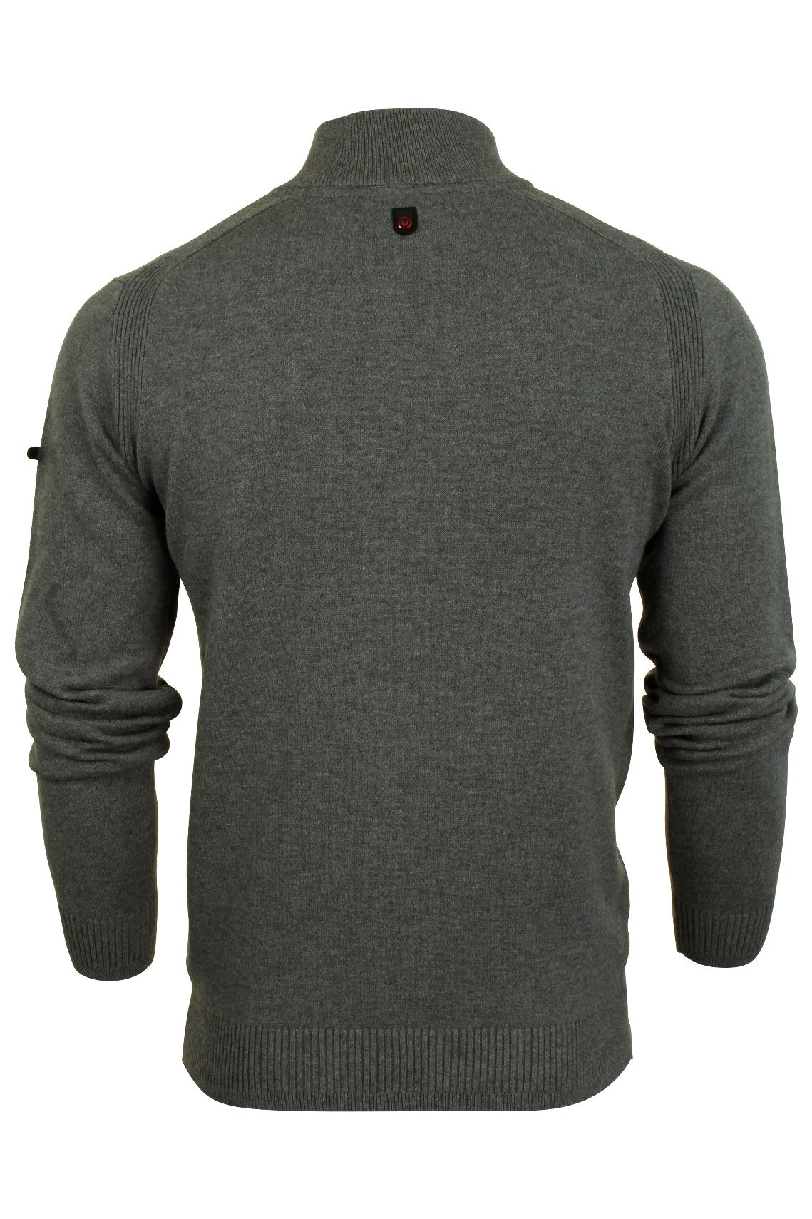 Mens 1/4 Zip Neck Jumper by Duck and Cover 'Latitude'-3