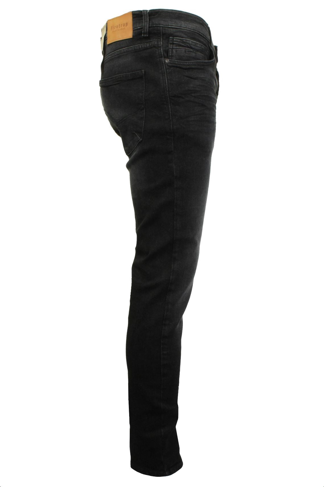 Mens Jeans by Firetrap 'Denhoff' Skinny Fit with Button Fly-2