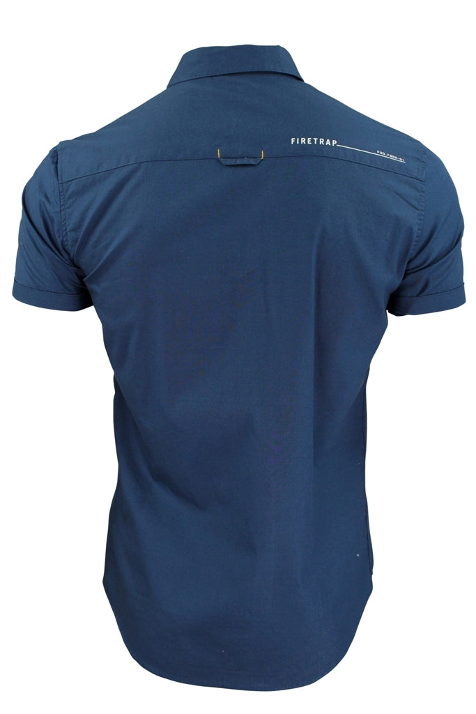 Mens Short Sleeved Shirt by Firetrap-2