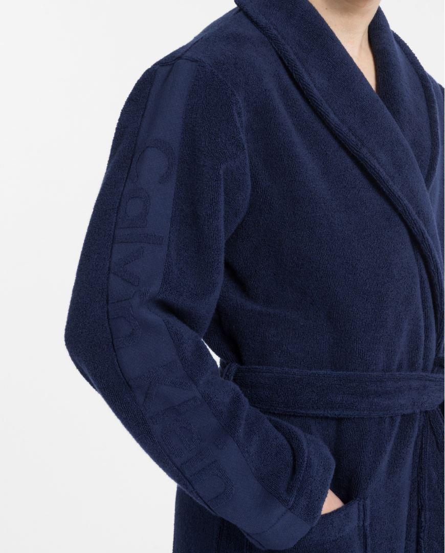 Mens Calvin Klein Terry Robe/ Dressing Gown-2