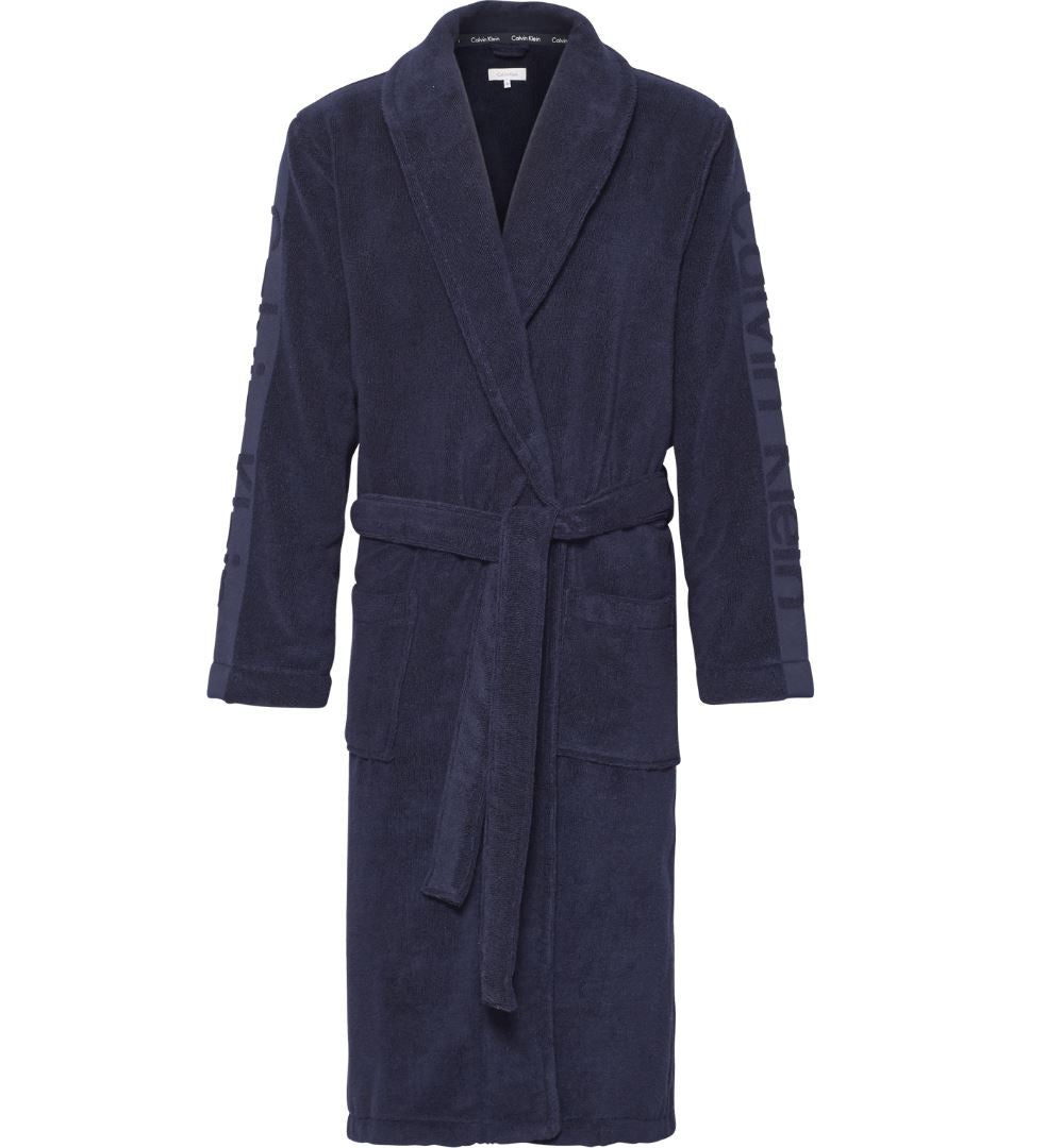 Mens Calvin Klein Terry Robe/ Dressing Gown-Main Image