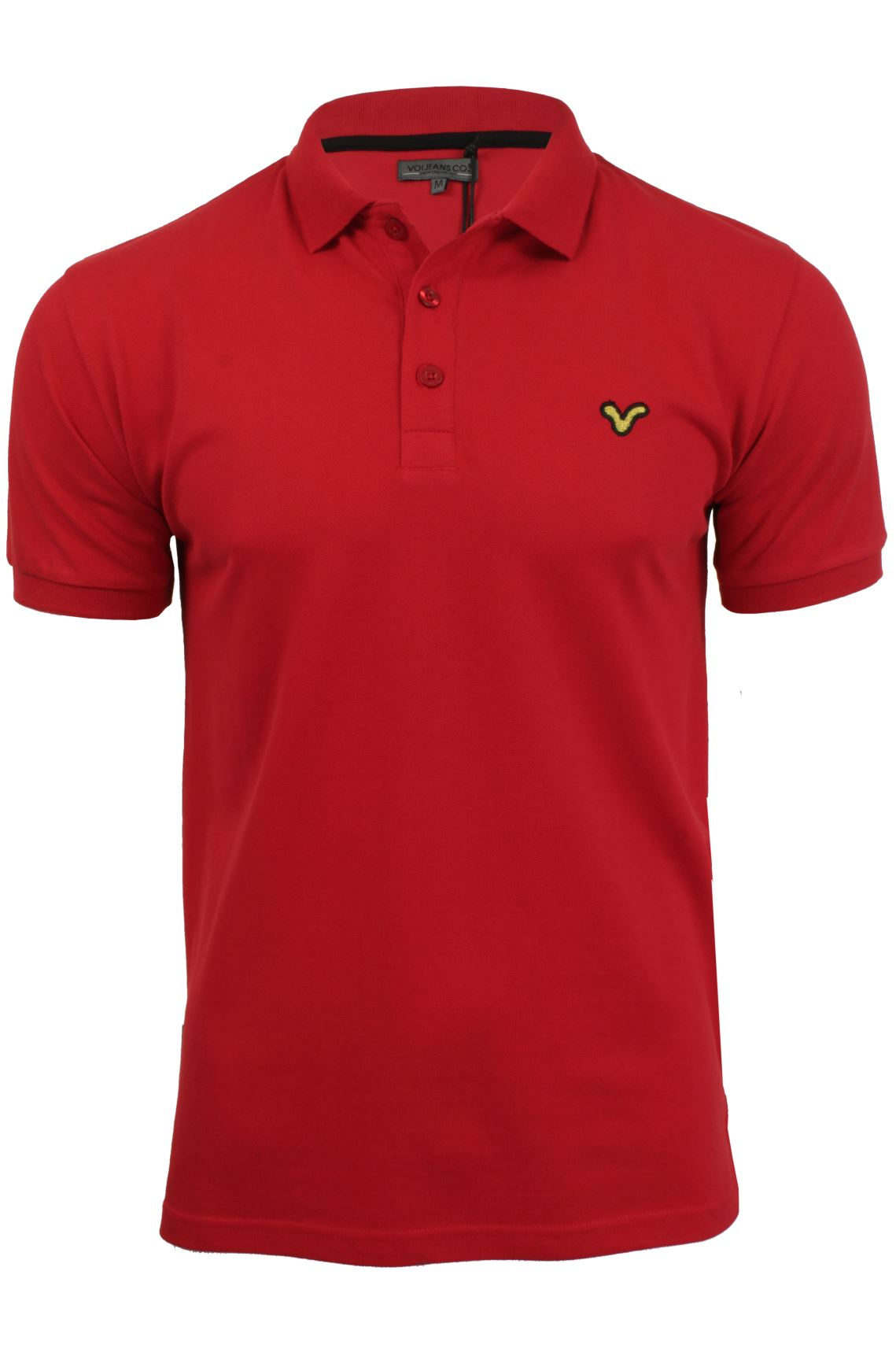 Mens Polo Shirt by Voi Jeans 'Redford'-Main Image