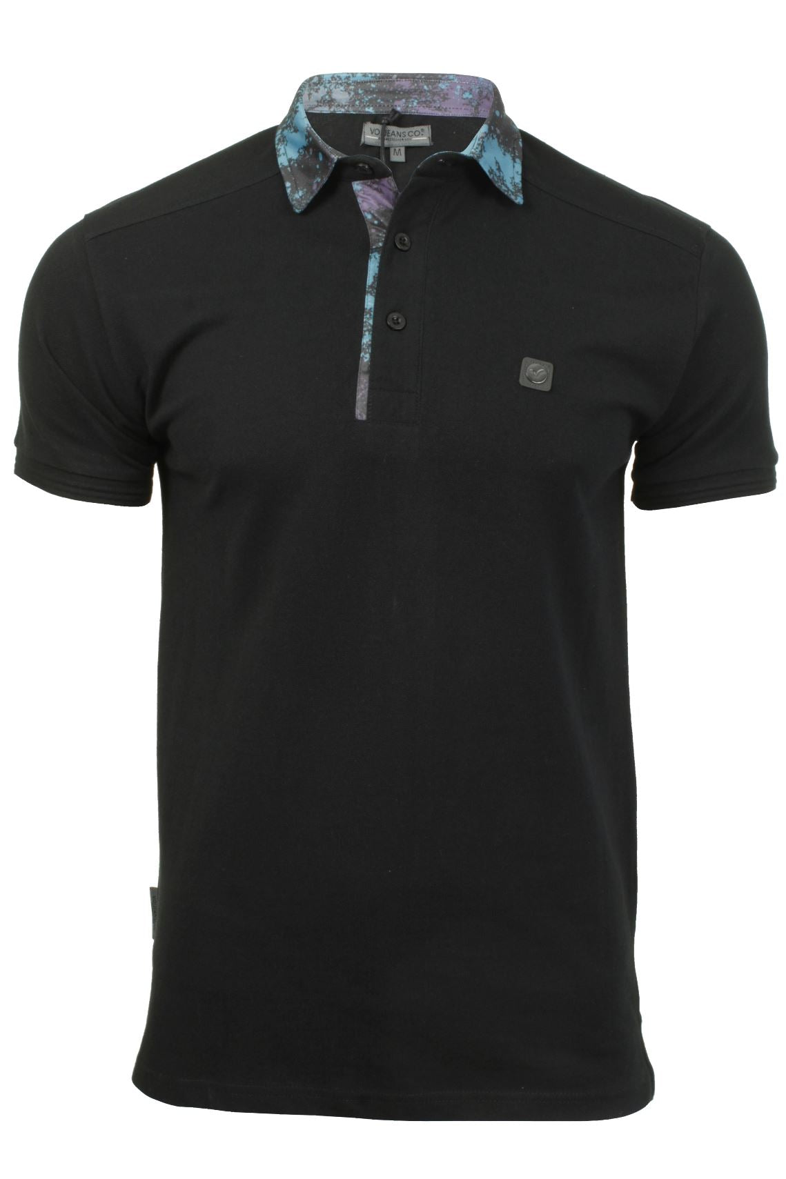 Mens Polo T-Shirt by Voi Jeans 'Ghost' Short Sleeved-2