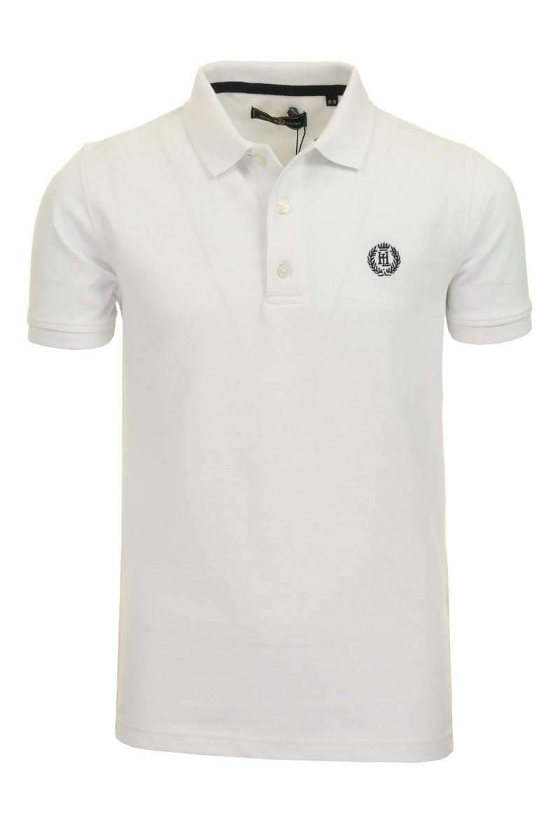 Henri Lloyd 'Cowes' Boys Polo T-Shirt, 01, Hll0002, #colour_Bright White