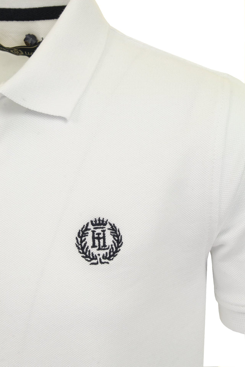 Henri Lloyd 'Cowes' Boys Polo T-Shirt, 02, Hll0002, #colour_Bright White