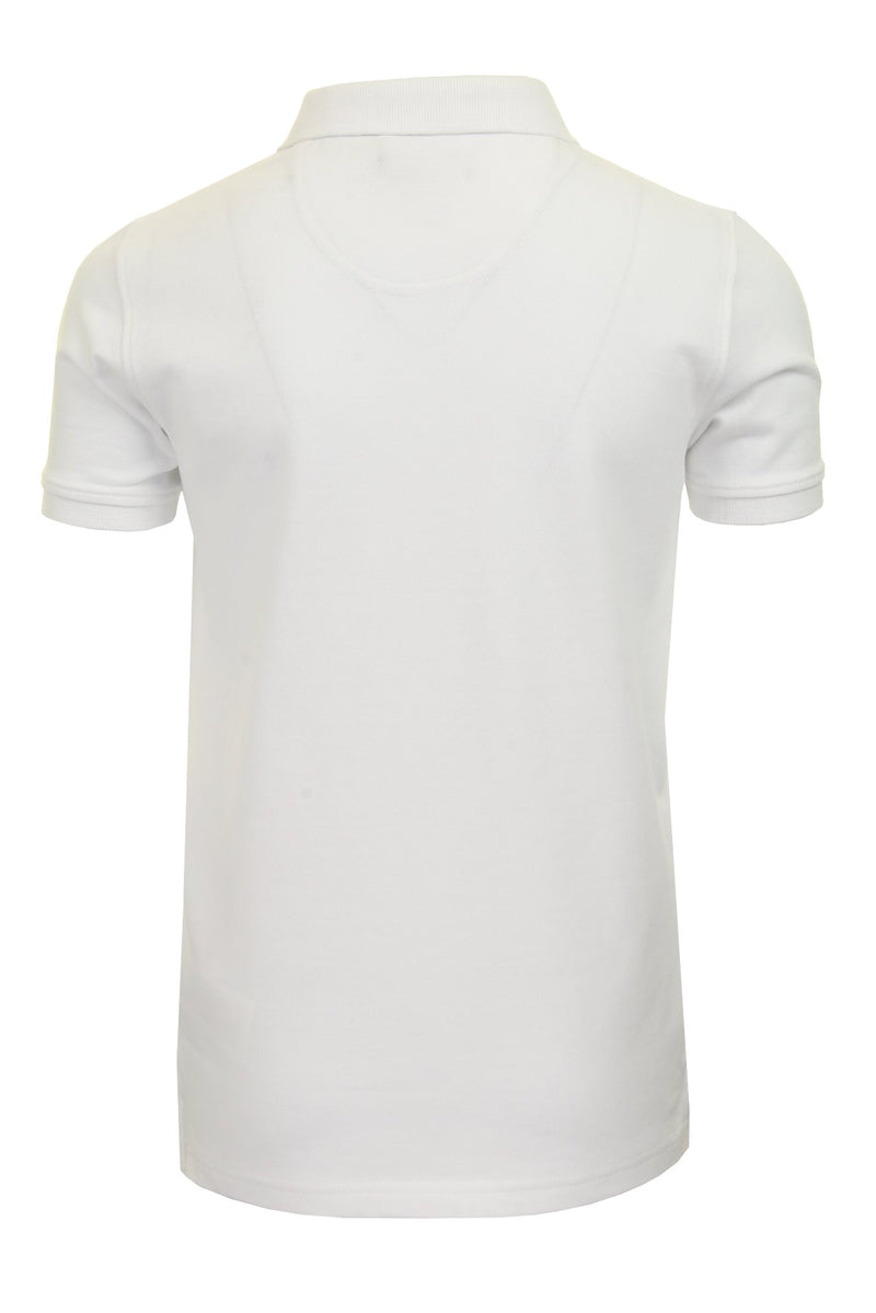 Henri Lloyd 'Cowes' Boys Polo T-Shirt, 03, Hll0002, #colour_Bright White