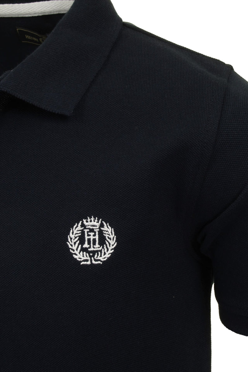 Henri Lloyd 'Cowes' Boys Polo T-Shirt, 02, Hll0002, #colour_Navy Blazer