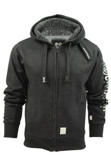 Mens Hoodie/ Jumper by Crosshatch 'Latix' Borg Lined Hood-Main Image