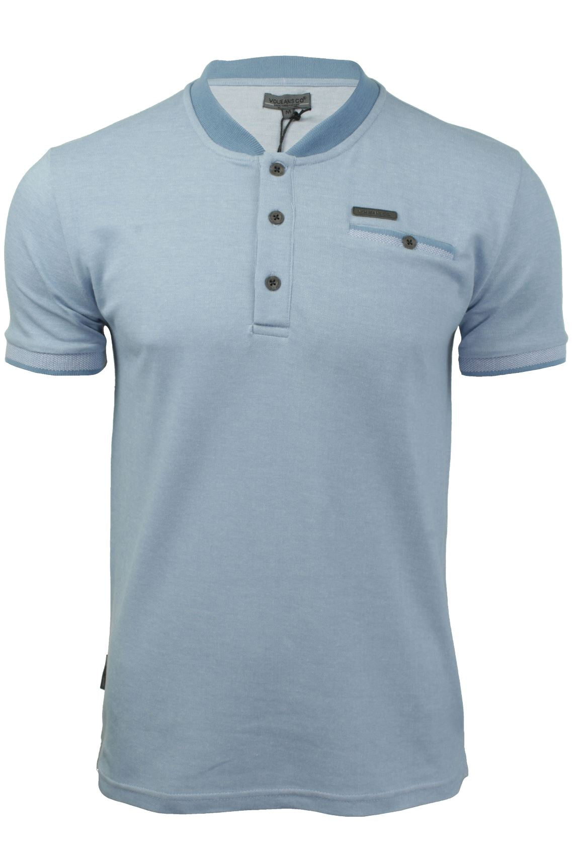 Mens Polo T-Shirt by Voi Jeans 'Lutz'-Main Image