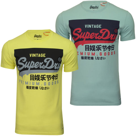 Superdry Mens T-Shirt 'O Tee'-Main Image