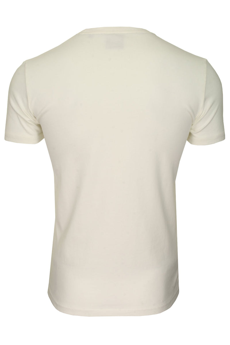 Superdry Mens T-Shirt 'Shirt Shop Bonded Tee', 02, M1010100A, #colour_Desert Bone