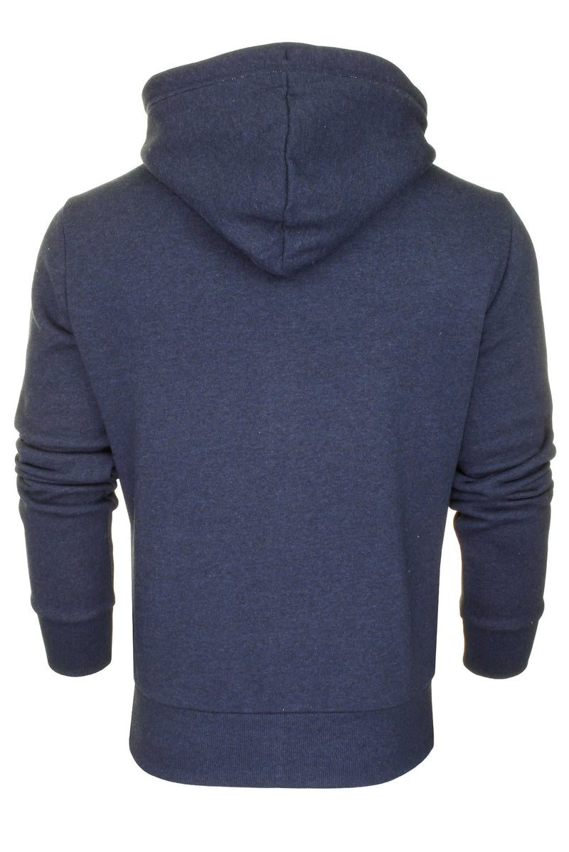 Superdry Mens Hoodie 'OL Classic Zip Hood', 03, M2010227A, #colour_Midnight Blue Grit