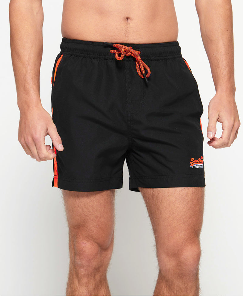 Superdry Mens 'Beach Volley' Swim Shorts, 01, M30010At