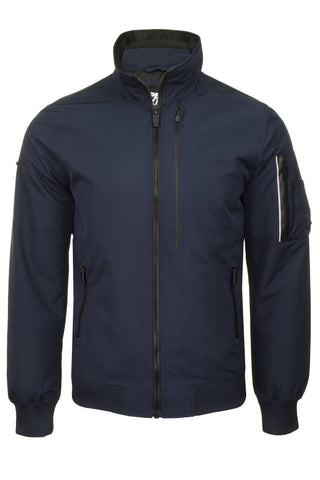 Superdry Mens Jacket 'Moody Light Bomber'-Main Image
