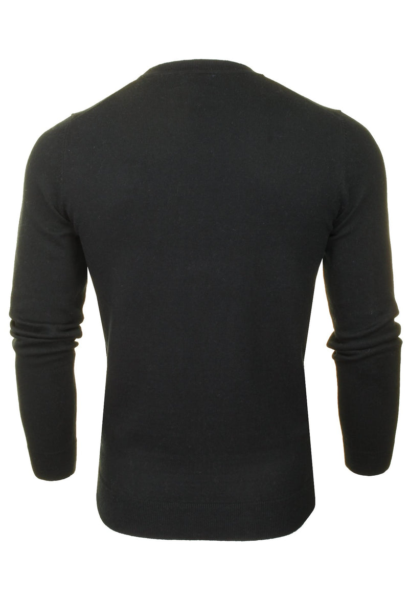 Superdry Mens Crew Neck Jumper 'Orange Label Crew', 03, M6110082A, #colour_Black