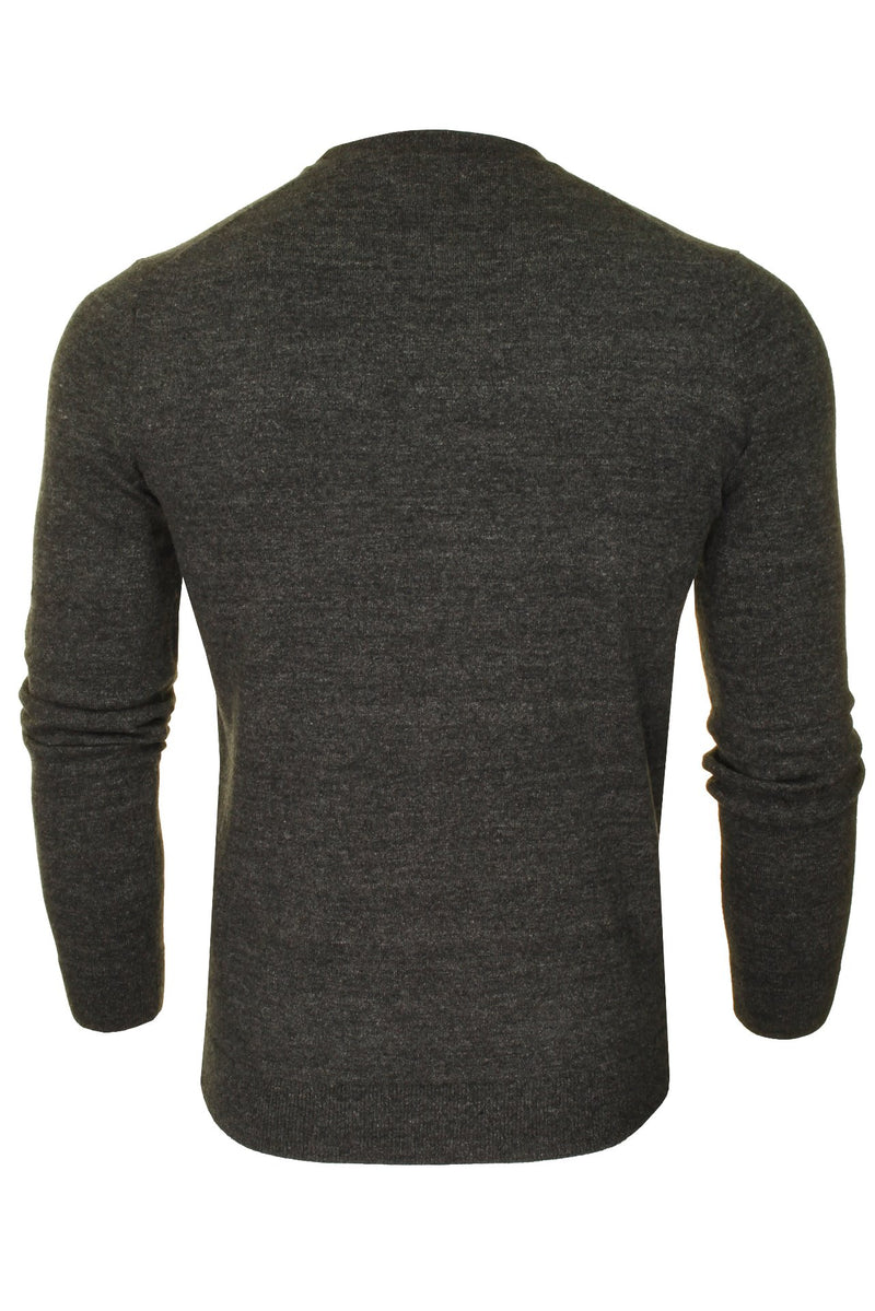 Superdry Mens Crew Neck Jumper 'Orange Label Crew', 03, M6110082A, #colour_Gull Grey Marl