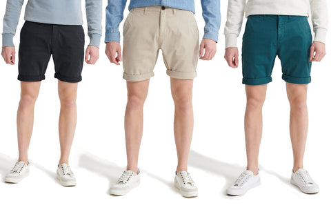 Superdry Mens Shorts 'International Chino Short'-Main Image