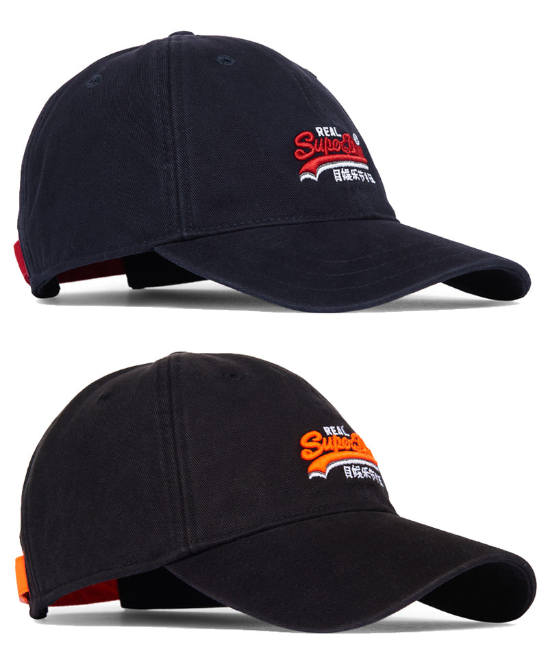 Superdry Mens Baseball Cap 'Orange Label Wash Twill Cap', 01, M90000MR
