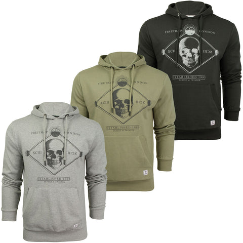 Mens Over-head Hoodie by Firetrap 'Manotick'-Main Image